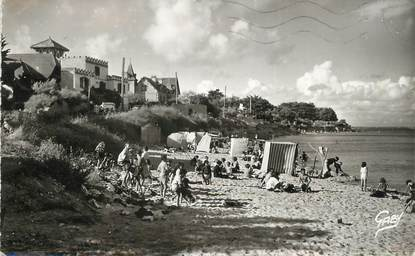 "/ CPSM FRANCE 56 ""Saint Pierre Quiberon, plage de l'usine"""