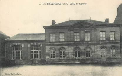"""/ CPA FRANCE 60 """"Sainte Geneviève, école de garçons"""""""
