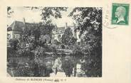 "89 Yonne CPA FRANCE 89 ""Chateau de Bléneau"""