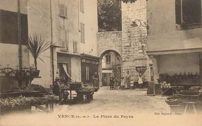"""/ CPA FRANCE 06 """"Vence, la place du Peyra """""""