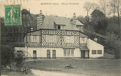 """CPA FRANCE 27 """"Brionne, maison normande"""""""