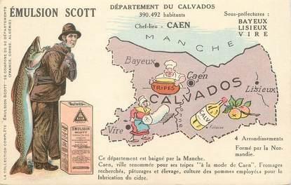 """/ CPA FRANCE 14 """"Calvados, émulsion Scott"""""""