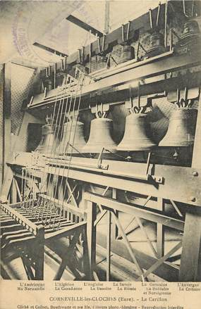 "CPA FRANCE 27 ""Corneville les Cloches, le Carillon"""