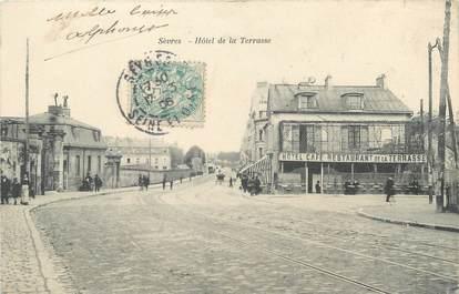 """/ CPA FRANCE 92 """"Sèvres, hôtel de la Terrasse"""""""