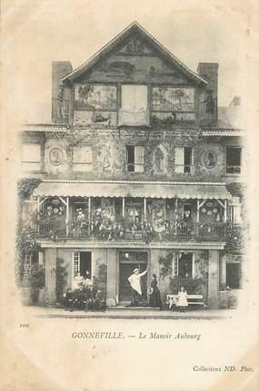 """CPA FRANCE 76 """"Gonneville, le Manoir Aubourg"""""""