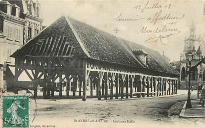 """CPA FRANCE 27 """"Saint André de l'Eure, ancienne Halle"""""""
