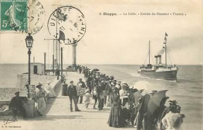 """CPA FRANCE 76 """" Dieppe, la Jetée"""""""