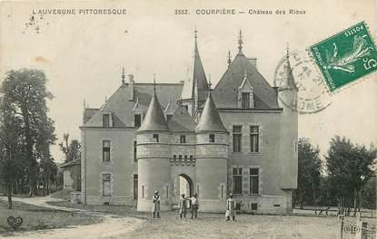"""CPA FRANCE 63 """"Courpière, Chateau des Rioux"""""""