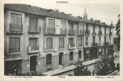 "/ CPA FRANCE 06 ""Nice, Hôtel Athéna"""
