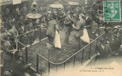"""CPA FRANCE 59  """"Lille, combat de coqs"""""""