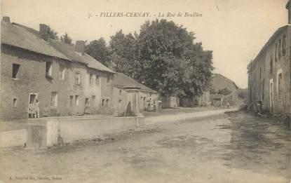 """/ CPA FRANCE 08 """"Villers Cernay, la rue de Bouillon"""""""