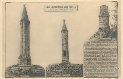 """/ CPA FRANCE 16 """"Les Lanternes des Morts de la Charente"""""""