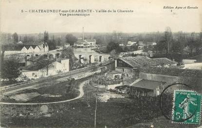 """/ CPA FRANCE 16 """"Châteauneuf sur Charente, vallée de la Charente, vue panoramique"""""""