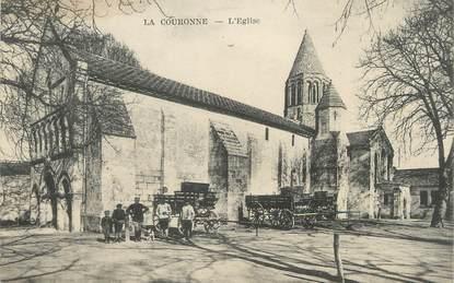"""/ CPA FRANCE 16 """"La Couronne, l'église"""""""
