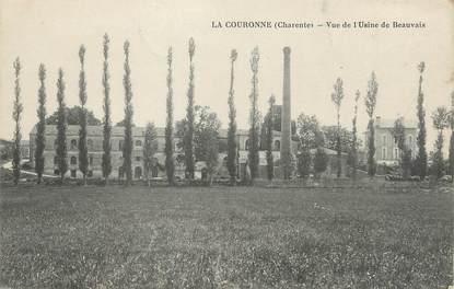 """/ CPA FRANCE 16 """"La Couronne, vue sur l'usine de Beauvais"""""""