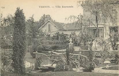 """CPA FRANCE 27 """"Vernon, villa Raymonde"""""""