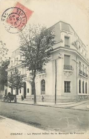 """/ CPA FRANCE 16 """"Cognac, le nouvel Hôtel de la Banque de France"""" / BDF"""