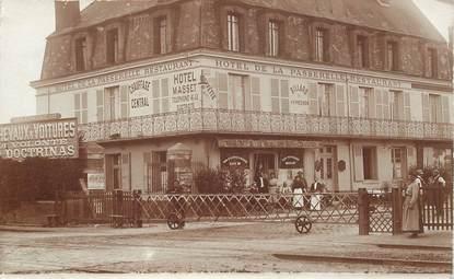 """CARTE PHOTO FRANCE  60 """"Compiègne, Hotel de la Passerelle"""""""""""