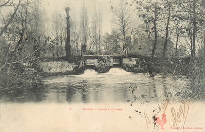 "/ CPA FRANCE 16 ""Jarnac, cascade du parc"""