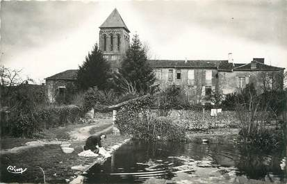 """/ CPSM FRANCE 16 """"Lesterps, abbaye"""""""