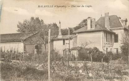 """/ CPA FRANCE 16 """"Malaville, une vue du logis"""""""