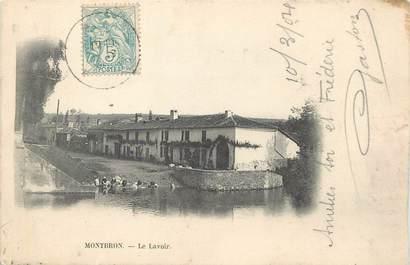 """/ CPA FRANCE 16 """"Montbron, le lavoir"""""""