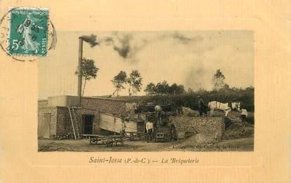 """CPA FRANCE 62 """"Saint Josse, la Briqueterie"""""""