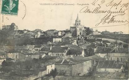 """/ CPA FRANCE 16 """"Villebois Lavalette, vue générale"""""""