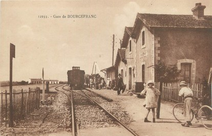 "/ CPA FRANCE 17 ""Gare de Bourcefranc"""