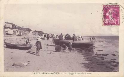 """/ CPA FRANCE 17 """"La Couarde sur Mer, la plage à marée haute"""""""
