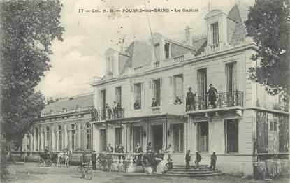 "/ CPA FRANCE 17 ""Fouras les Bains, le casino"""
