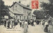 "17 Charente Maritime / CPA FRANCE 17 ""Fouras Les Bains, la gare"""
