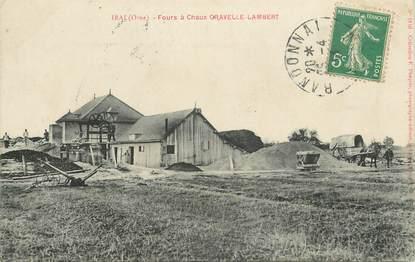 """CPA FRANCE 61 """"Irai, fours à Chaux, Gravelle Lambert"""""""