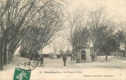 """CPA FRANCE 26 """"Pierrelatte, le champ de Mars"""""""