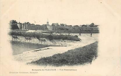 """/ CPA FRANCE 17 """"Remparts de l'Ile d'Aix, vue panoramique"""""""