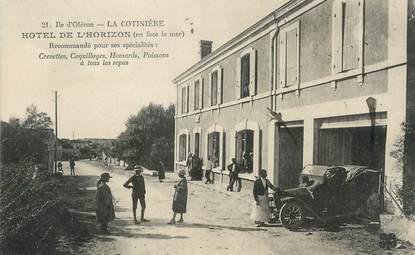 """/ CPA FRANCE 17 """"Ile d'Oléron, hôtel de l'Horizon"""""""