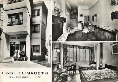 "CPSM FRANCE 06 ""Nice, Hotel Elisabeth, 12 bis rue Miron"""