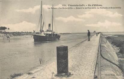 """/ CPA FRANCE 17 """"Ile d'Oléron, le bateau le Boyardville"""""""
