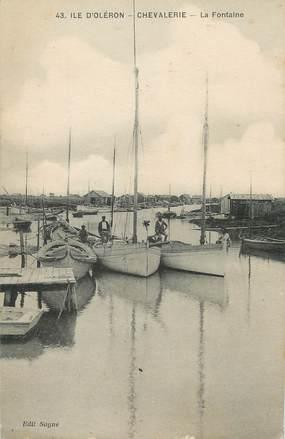 """/ CPA FRANCE 17 """"Ile d'Oléron, Chevalerie, la Fontaine"""""""