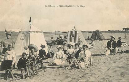 """/ CPA FRANCE 17 """"Ile d'Oléron, Boyardville, la plage"""""""