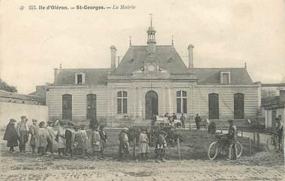 """/ CPA FRANCE 17 """"Ile d'Oléron, Saint Georges, la mairie"""""""