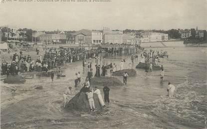 """/ CPA FRANCE 17 """"Royan, concours de Forts en sable à Pontaillac"""""""