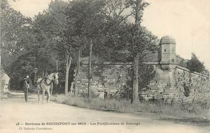 """/ CPA FRANCE 17 """"Environs de Rochefort sur Mer, les fortifications de Brouage"""""""