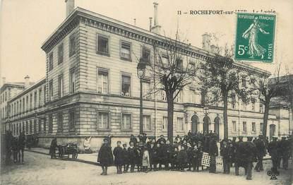 """/ CPA FRANCE 17 """"Rochefort sur Mer, le lycée """""""