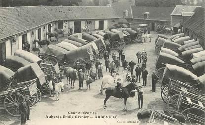 """CPA FRANCE 80 """"Abbeville, Auberge Emile Grenier, les Ecuries"""""""