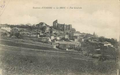 """CPA FRANCE 63 """"Env. d'Issoire, Le Broc"""""""
