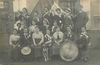 "CARTE PHOTO FRANCE 38 ""Pressins, 1918"