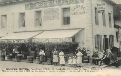 "CPA FRANCE 38 ""Corbelin, Nouvel Hotel, Pr. Ferrand"""