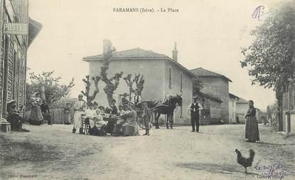 "CPA  FRANCE 38 ""Faramans, la Place"""