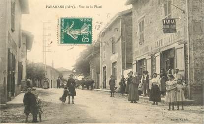 """CPA  FRANCE 38 """"Faramans, vue de la Place"""""""